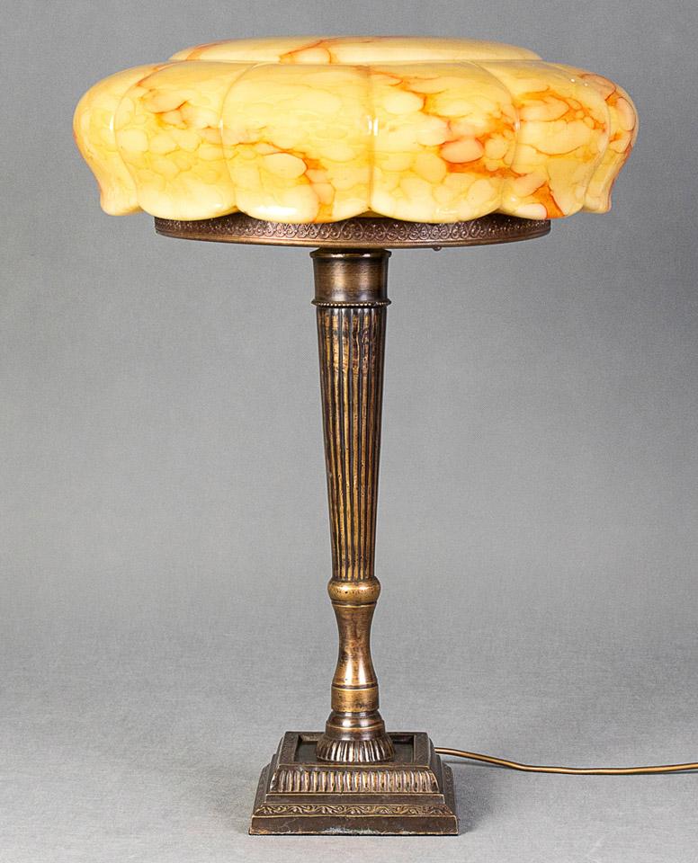 Stara lampa gabinetowa